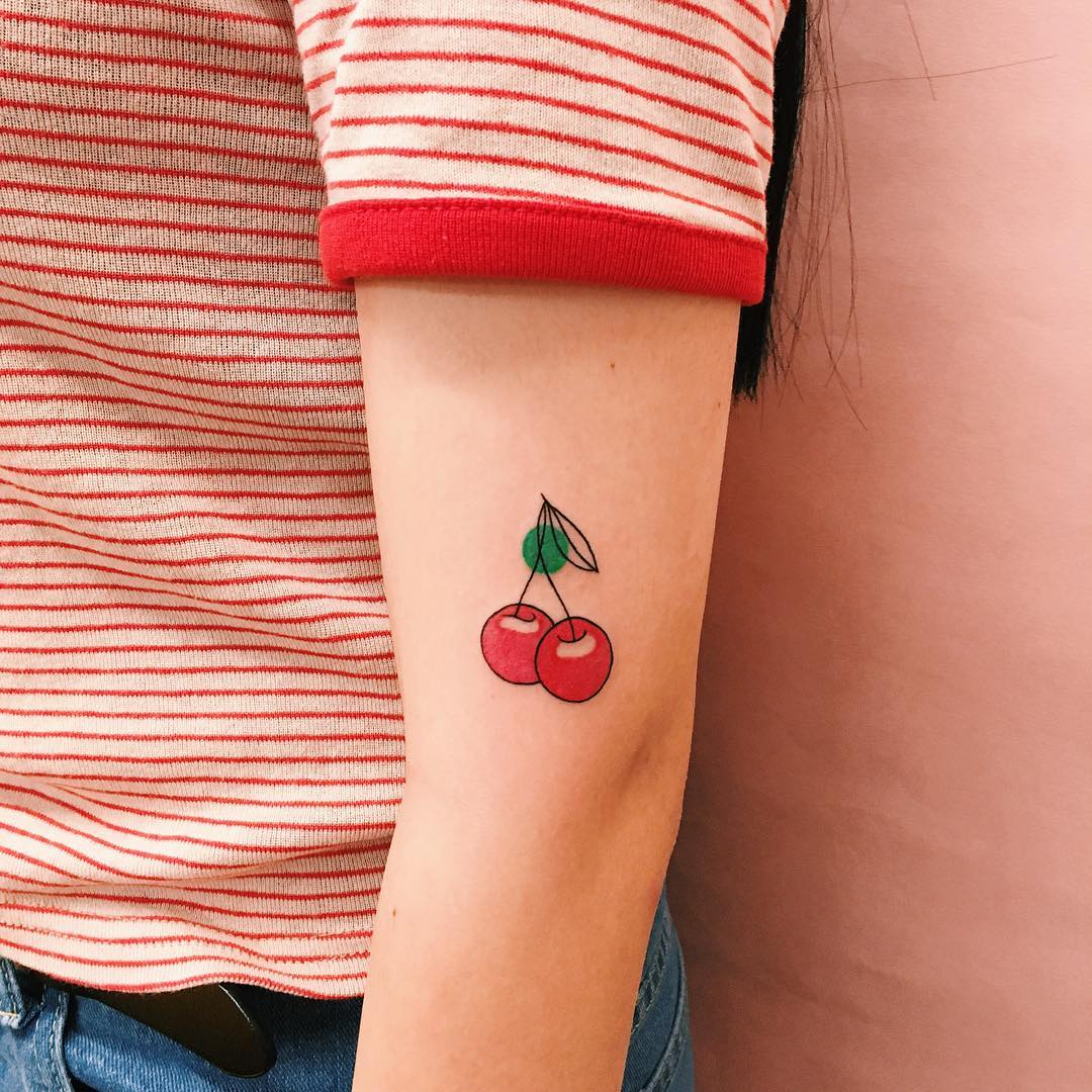 best-cherry-blossom-tattoos-of-2019