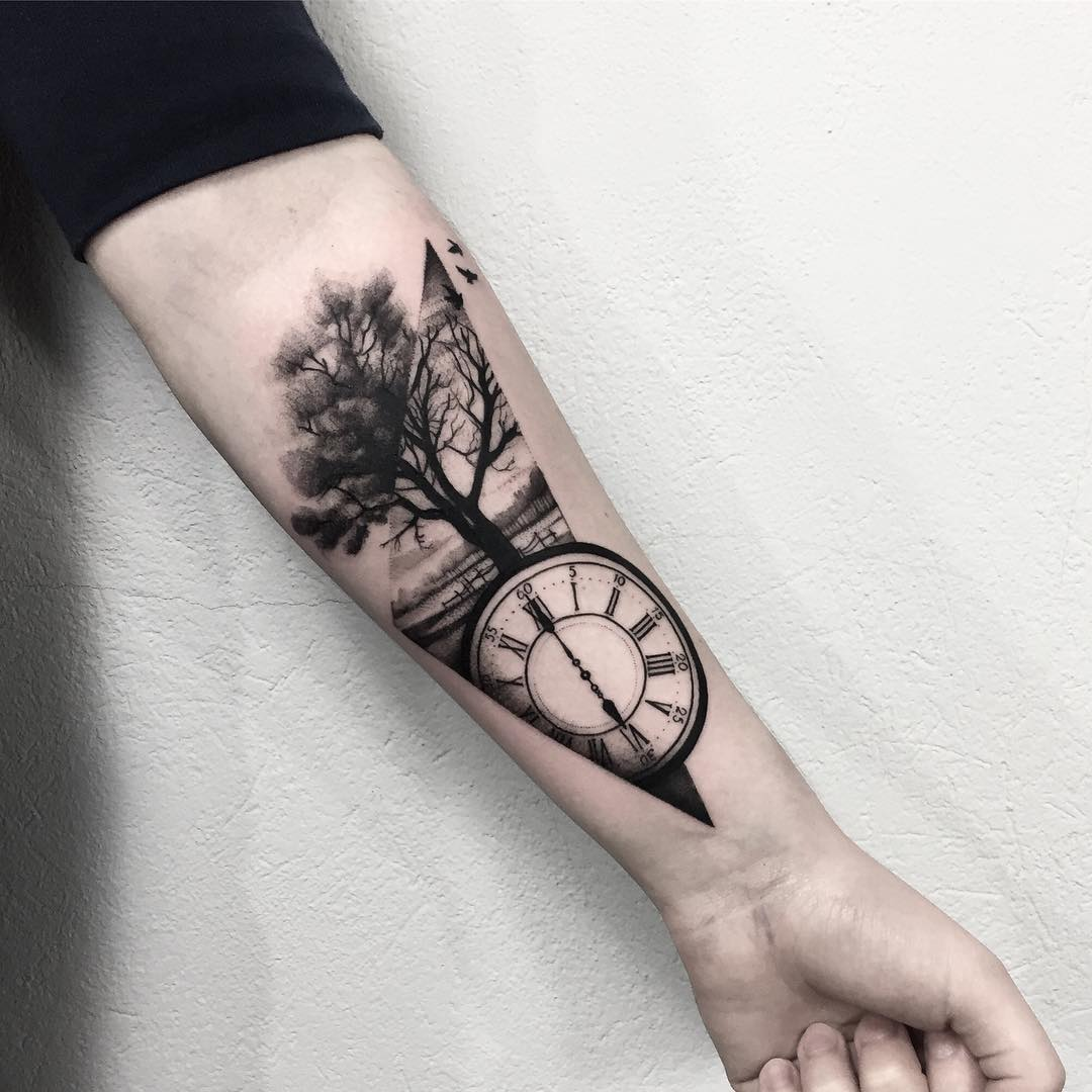 Simple And Easy Pine Tree Tattoo Designs Meanings 2019 Page