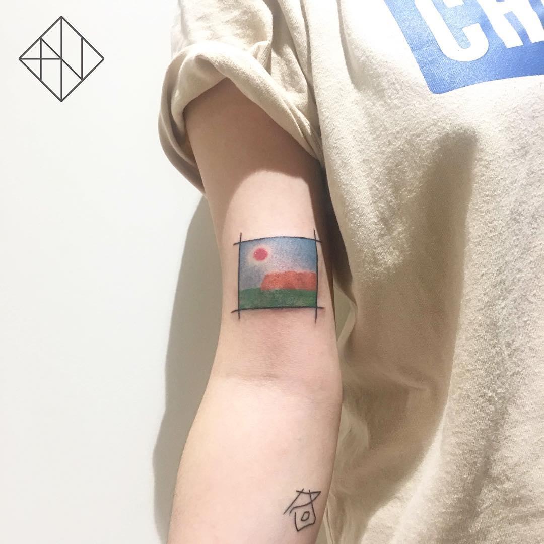 stunningly-hot-sun-tattoos