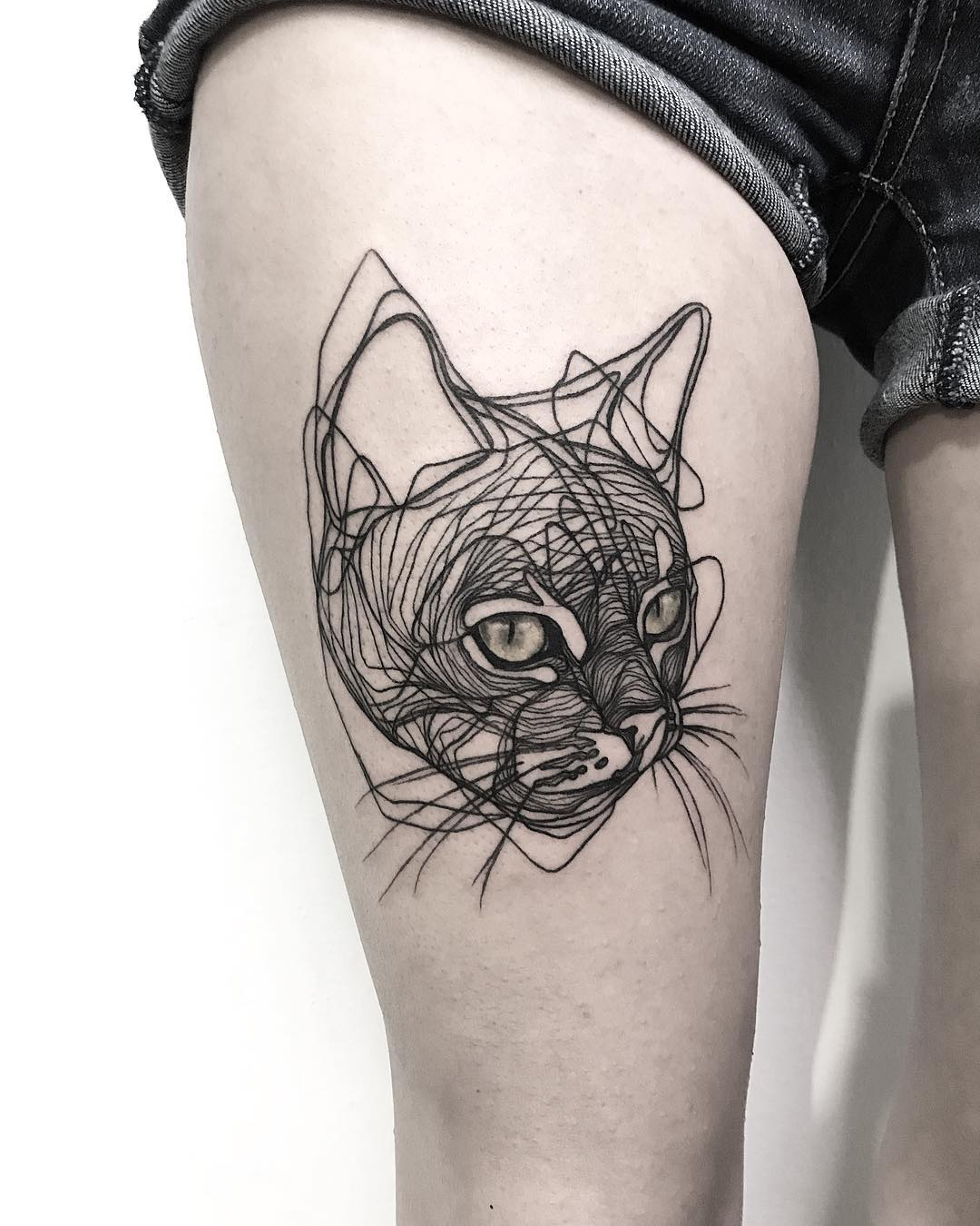 cat-tattoo-designs-meanings-spiritual-luck-2019
